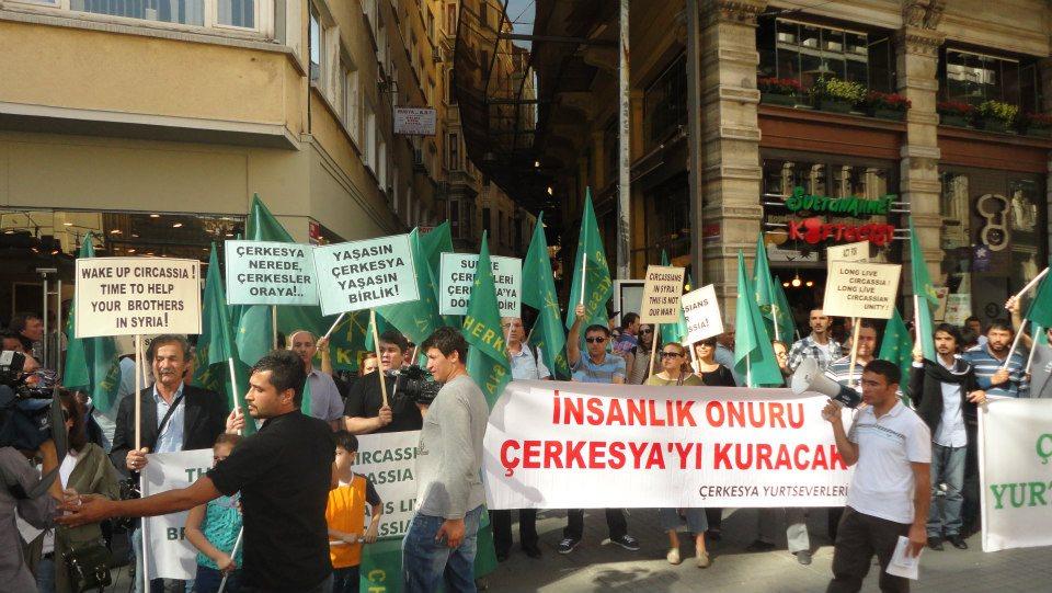 Suriye Çerkesleri İçin Dayanışma Eylemi - İstanbul